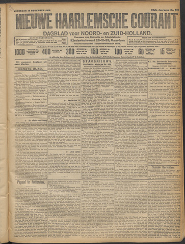 Nieuwe Haarlemsche Courant 1913-11-12