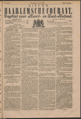 Nieuwe Haarlemsche Courant 1900-06-20