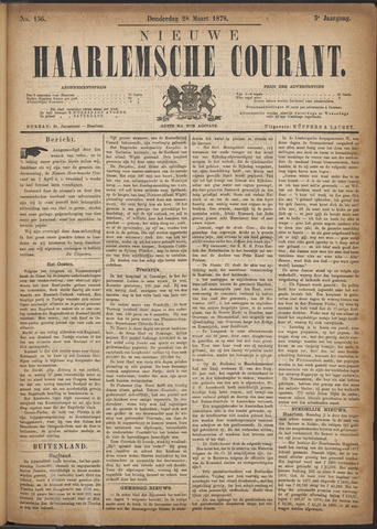 Nieuwe Haarlemsche Courant 1878-03-28