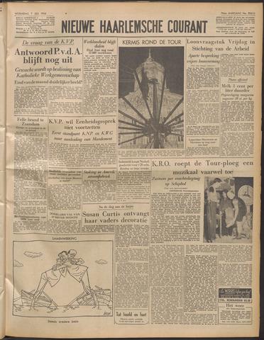Nieuwe Haarlemsche Courant 1954-07-07