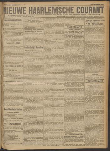 Nieuwe Haarlemsche Courant 1918-10-09