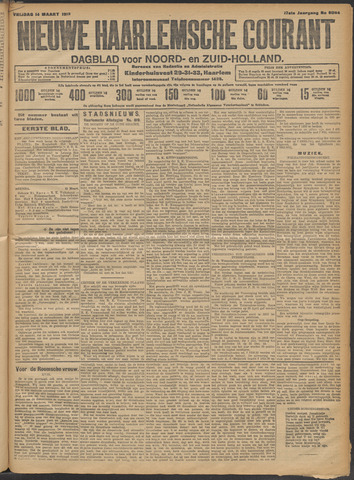 Nieuwe Haarlemsche Courant 1913-03-14