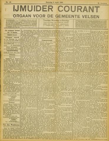 IJmuider Courant 1921-04-09