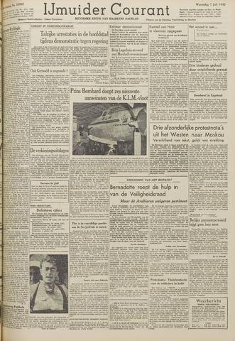 IJmuider Courant 1948-07-07