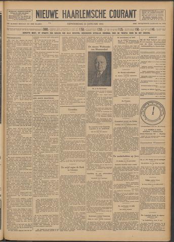 Nieuwe Haarlemsche Courant 1931-01-22