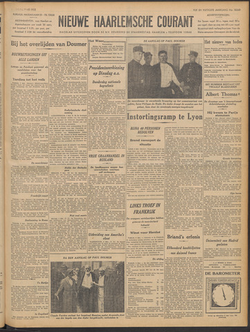 Nieuwe Haarlemsche Courant 1932-05-09