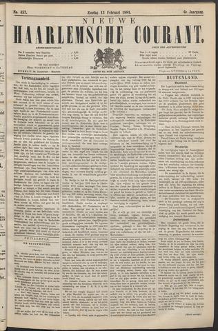 Nieuwe Haarlemsche Courant 1881-02-13