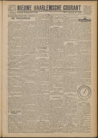 Nieuwe Haarlemsche Courant 1922-09-19