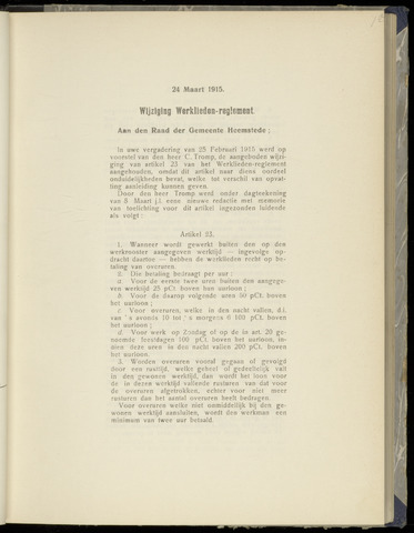 Raadsnotulen Heemstede 1915-03-24