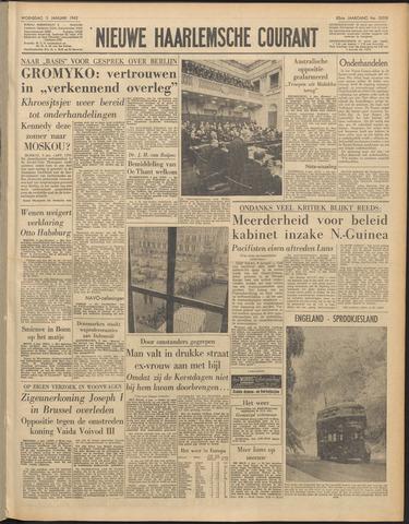 Nieuwe Haarlemsche Courant 1962-01-03