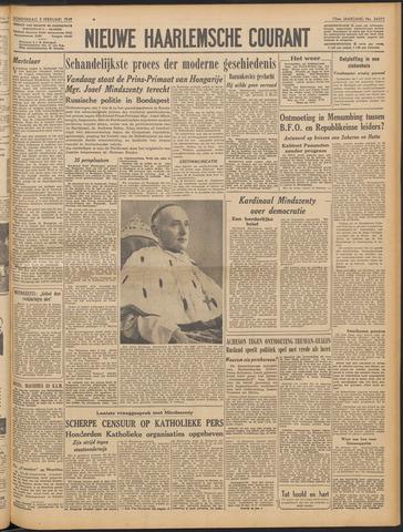 Nieuwe Haarlemsche Courant 1949-02-03