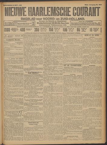Nieuwe Haarlemsche Courant 1913-09-18