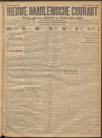 Nieuwe Haarlemsche Courant 1914-06-19