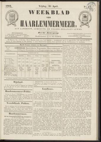 Weekblad van Haarlemmermeer 1862-04-25