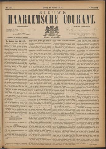 Nieuwe Haarlemsche Courant 1878-10-13