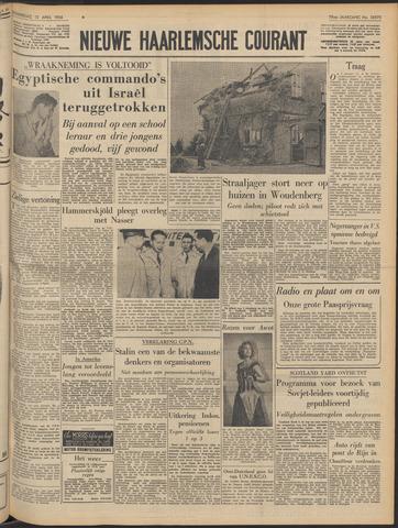 Nieuwe Haarlemsche Courant 1956-04-12