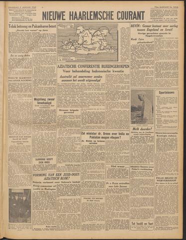 Nieuwe Haarlemsche Courant 1949-01-03
