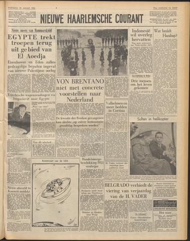 Nieuwe Haarlemsche Courant 1956-01-25