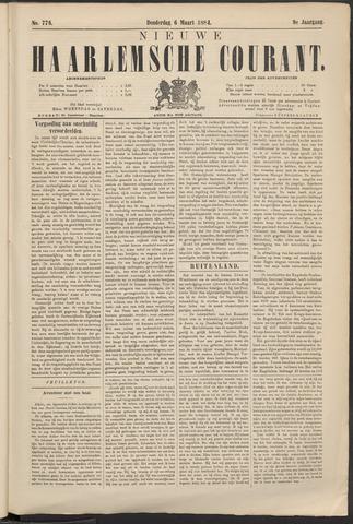 Nieuwe Haarlemsche Courant 1884-03-06