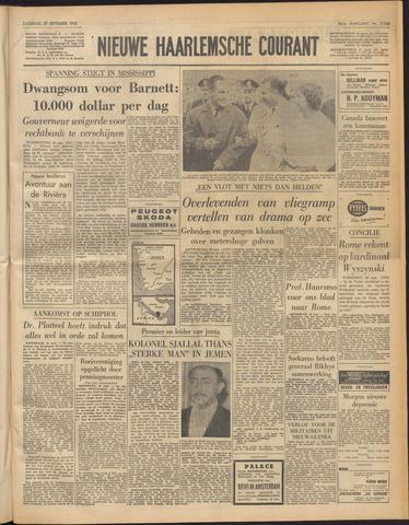 Nieuwe Haarlemsche Courant 1962-09-29