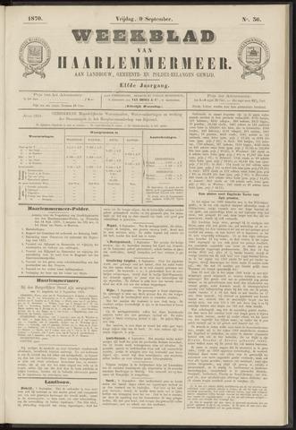 Weekblad van Haarlemmermeer 1870-09-09