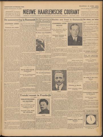 Nieuwe Haarlemsche Courant 1934-04-16