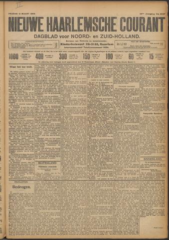 Nieuwe Haarlemsche Courant 1909-03-12