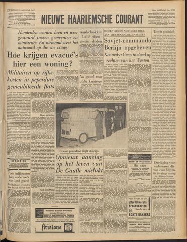 Nieuwe Haarlemsche Courant 1962-08-23