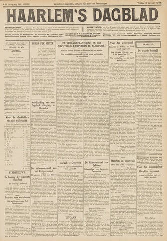 Haarlem's Dagblad 1926-01-08