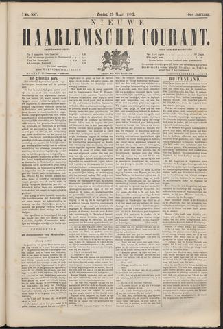 Nieuwe Haarlemsche Courant 1885-03-29