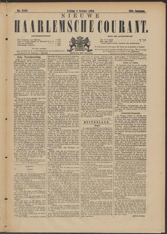 Nieuwe Haarlemsche Courant 1894-10-05