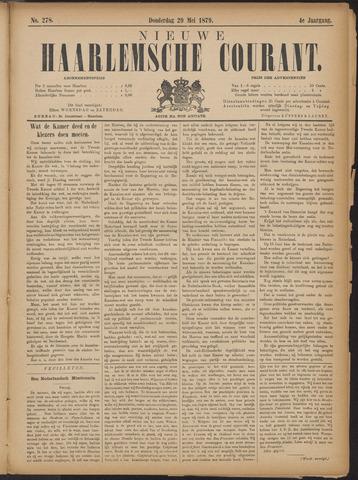 Nieuwe Haarlemsche Courant 1879-05-29