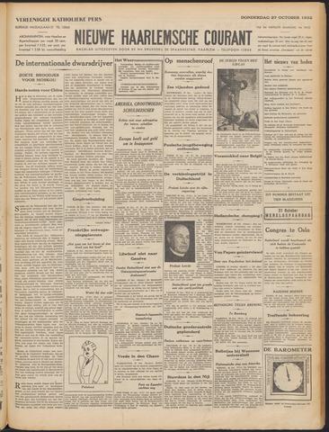 Nieuwe Haarlemsche Courant 1932-10-27