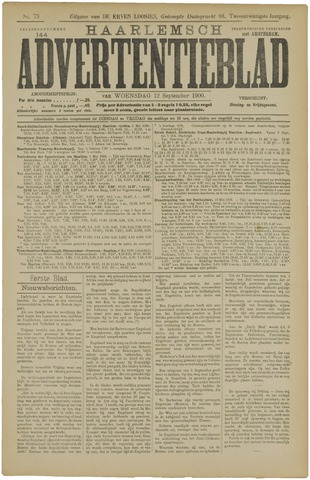 Haarlemsch Advertentieblad 1900-09-12