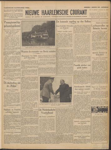 Nieuwe Haarlemsche Courant 1940-08-01
