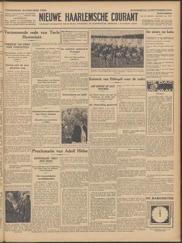 Nieuwe Haarlemsche Courant 1935-09-12
