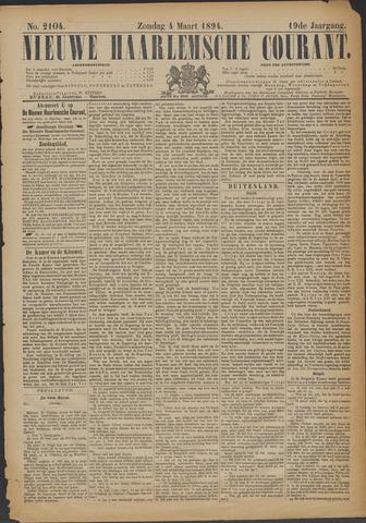 Nieuwe Haarlemsche Courant 1894-03-04
