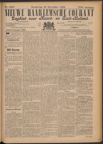 Nieuwe Haarlemsche Courant 1902-12-25