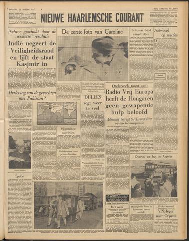 Nieuwe Haarlemsche Courant 1957-01-26