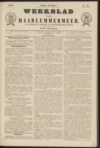 Weekblad van Haarlemmermeer 1870-03-25