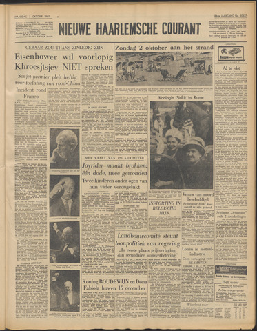 Nieuwe Haarlemsche Courant 1960-10-03