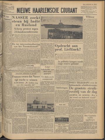 Nieuwe Haarlemsche Courant 1956-08-07