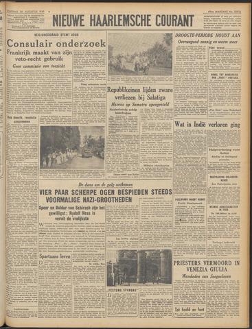 Nieuwe Haarlemsche Courant 1947-08-26