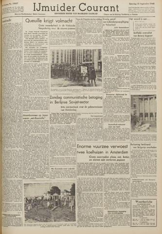 IJmuider Courant 1948-09-11