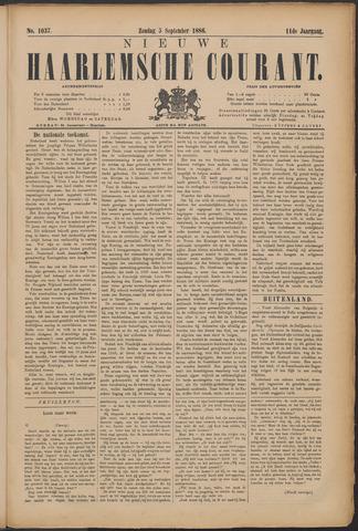 Nieuwe Haarlemsche Courant 1886-09-05