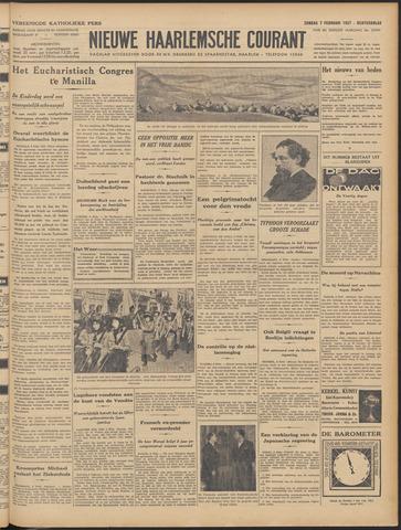 Nieuwe Haarlemsche Courant 1937-02-07