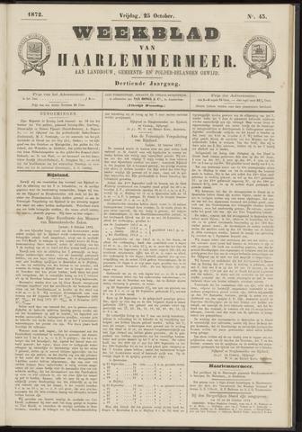 Weekblad van Haarlemmermeer 1872-10-25
