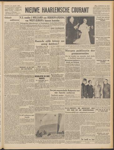 Nieuwe Haarlemsche Courant 1949-03-25