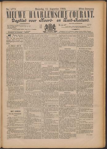 Nieuwe Haarlemsche Courant 1904-08-15