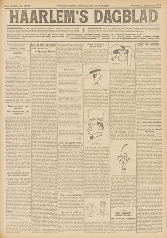 Haarlem's Dagblad 1926-09-01